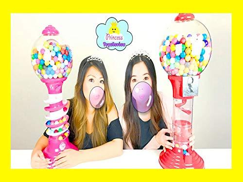 - Clip: Dubble Bubble Challenge Giant Gumball Machine