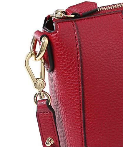 sintética Mujeres bolso Rojo piel de Rojo mediano Armani BXadnxPTa