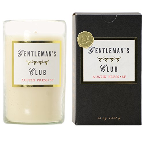Sanctum Collection Gentlemens Club Candle 14 oz by Austin - Glass 14 Bee Oz Candle