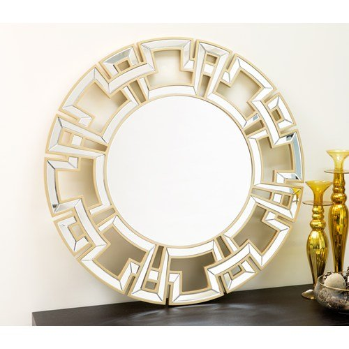 Zena Round Venetian Wall Mirror - 36W x 36H in., used for sale  Delivered anywhere in USA