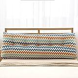 Cotton Pillow On The Sofa Triangular Big Pillow ( Color : 2 , Size : 2250120cm )