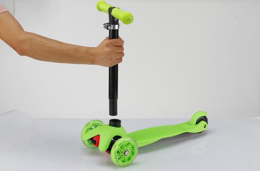 b965cee4e ... verde HJXJXJX Dos colores opcional tres-en-una maleta niños scooter  scooter scooter , verde ...