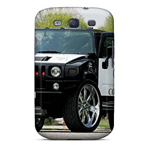 High Quality Shock Absorbing Case For Galaxy S3-hummer Police Car