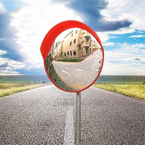 カーブミラー ガレージ駐車場撤廃ブラインドスポットのための屋外の道路交通凸PCミラー安全ミラー RGJ1-13 (Size : 80cm)