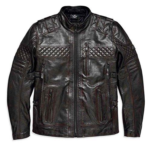 Harley Davidson Leather Motorcycle Jackets For Men - 5