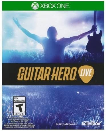 Guitar Hero: Live for Xbox One (Game ONLY) Xbox One by activation ...