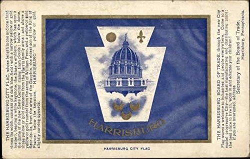 Harrisburg City Flag Harrisburg, Pennsylvania Original Vintage (City Of Harrisburg)