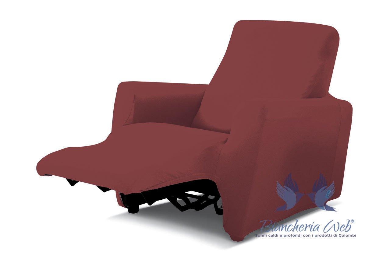 Copripoltrona Reclinabile Genius Relax Lounge In Tinta Unita Poltrona Lime COINGROSTEX