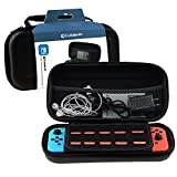Case for Nintendo Switch, Cubevit Nintendo Switch Case [No bad smells] Protective Portable Switch Case Shell Pouch With Double Zippers, Travel Carrying Case Cover Bag for Switch Console & Accessories