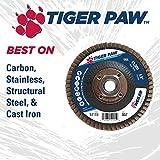 "Weiler 51104 4"" Tiger Paw Abrasive Flap"