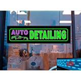 Auto Detailing LED Light up Sign