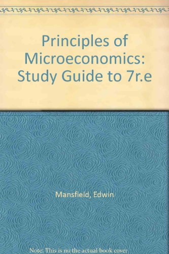 Principles of Microeconomics Study Guide