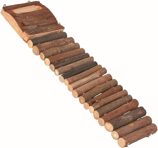 Trixie Natural Living Escalera de hámster con 7 peldaños, 27 cm: Amazon.es: Productos para mascotas
