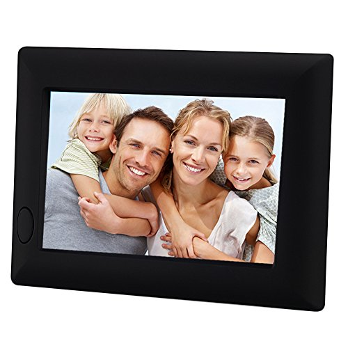 ChaoRong 20 Seconds Voice Recordable Picture Frame Battery Operate,Good Gift For Your Family Member(Black) (Photo Travel Clock Alarm)