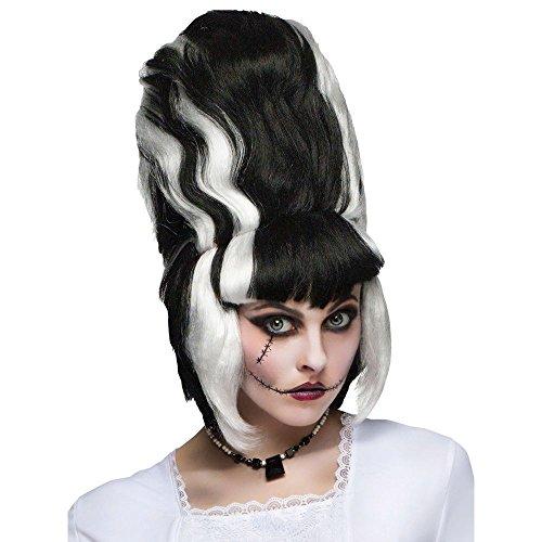 [Fun World Monster Bride Wig One Size] (Frankensteins Bride Costume)