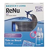 Bausch & Lomb ReNu MPS Multi-Purpose Contact Lens Solution - Flight Pack