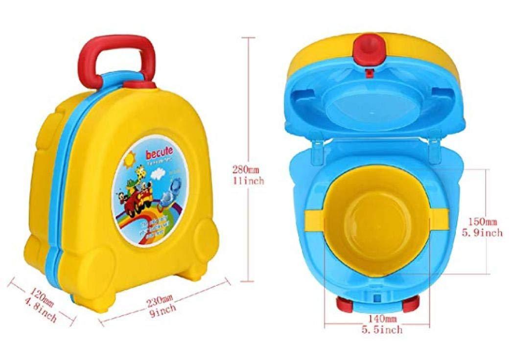 tragbar Toilettentraining tragbares Urinal-Training Einheitsgr/ö/ße gelb Urinal-Autos Reise-T/öpfchen f/ür Kinder f/ür Reisen