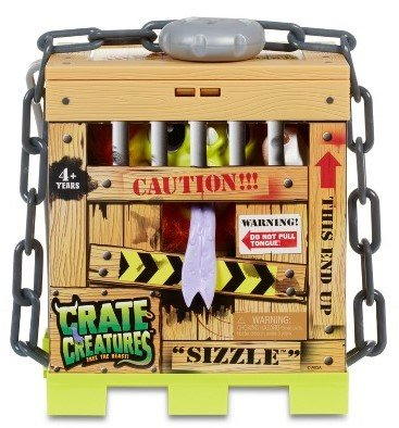 Crate Creatures set of 2, Sizzle and Blizz with FREE Crazy Aaron's Thinking Putty Mini by crate creatures (Image #3)