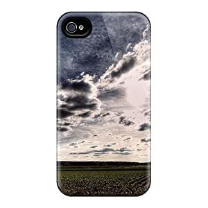 New Beautiful Sky Over Cultivated Fields Cases Covers, Anti-scratch JNZ17142ILEo Phone Cases For Iphone 6