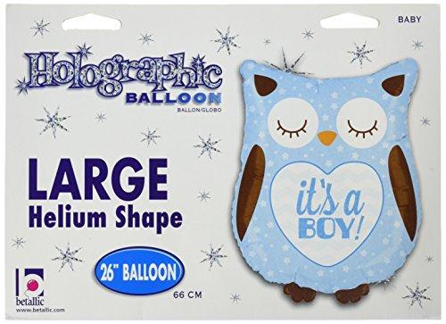 Boy Shape (Betallic it's A Boy Baby Owl Shape Balloon, 26