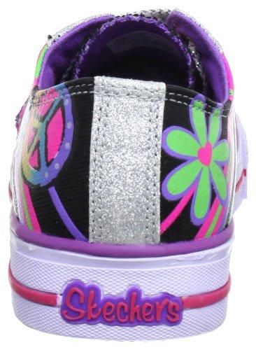Noir Baby bmlt Mode Baskets Skechers Shuffles Fille Groovy nBxUqwUYAP
