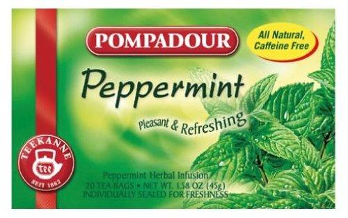 (Pompadour Herb Tea Peppermint 20bagsx1box)