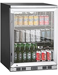 1 Door Front Venting Full Stainless Steel Bar Fridge