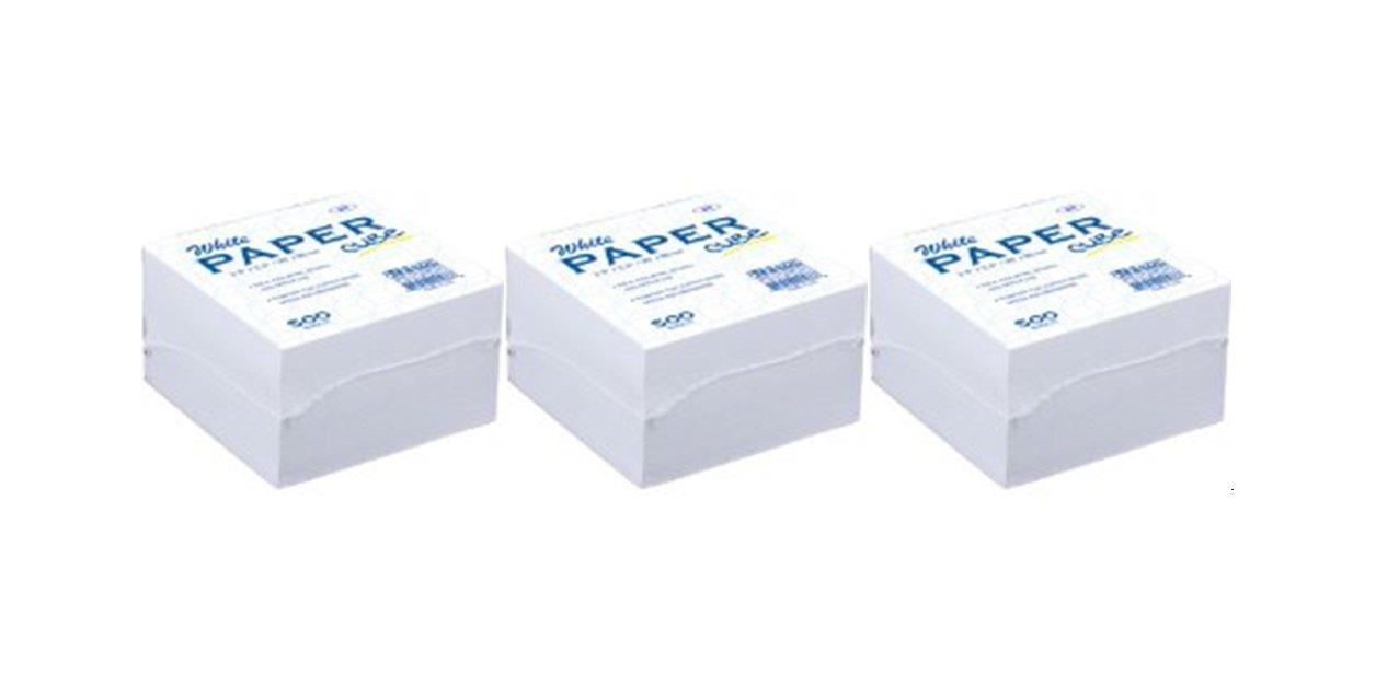 Brilliant Amazon Com White Memo Paper Cube 500 Paper Notes Per Pack Download Free Architecture Designs Terchretrmadebymaigaardcom