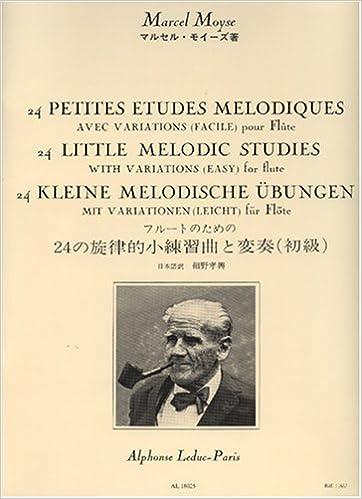 Moyse For Little Variations 9790046180255 Melodiques Melodic Studies Books 24 Flute com With Avec Moyse Marcel 24 Amazon Etudes Petites Variations