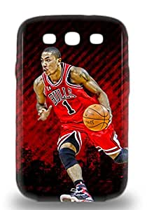 Sanp On 3D PC Case Cover Protector For Galaxy S3 NBA Chicago Bulls Derrick Rose #1 ( Custom Picture iPhone 6, iPhone 6 PLUS, iPhone 5, iPhone 5S, iPhone 5C, iPhone 4, iPhone 4S,Galaxy S6,Galaxy S5,Galaxy S4,Galaxy S3,Note 3,iPad Mini-Mini 2,iPad Air )