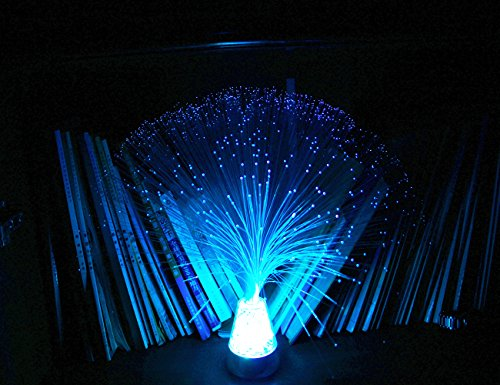 Remote Control Fiber Optic Party Colorful Lantern LED Table Centerpiece MultiColor Changing Festival Atmosphere Lamp by Lianya (Image #2)
