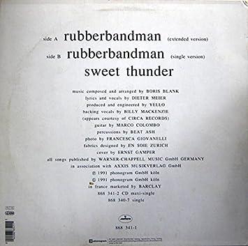 rubberband man single