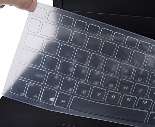 Keyboard Silicone Cover for 15.6 Acer Predator Helios 300 Gaming Laptop | Acer Nitro 5 Gaming Laptop AN515 | Acer Aspire VX 15 VX5-591G | 17.3 Acer Aspire V17 VN7-793G, Clear