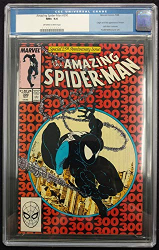 Amazing Spider-Man (1963) #300 CGC 9.6 old label 1st app Venom (0107506003)