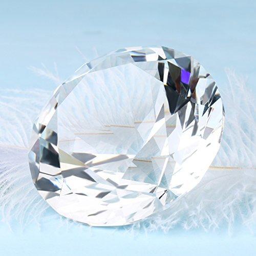 H&D geschnittenen geschnittenen geschnittenen Formen Briefbeschwerer aus Kristall Diamant 180 mm K9 Home Decor B00S7OAQZA | Export  dd7763
