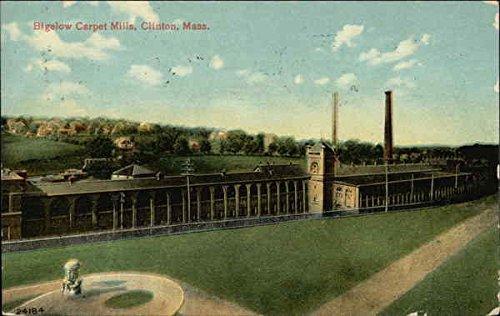 Bigelow Carpet - Bigelow Carpet Mills Clinton, Massachusetts Original Vintage Postcard