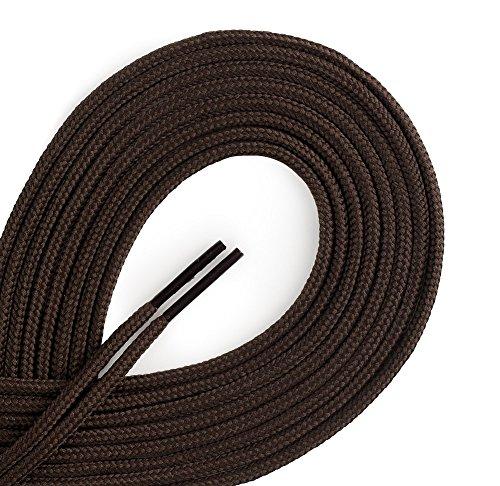36 brown dress shoe laces - 3