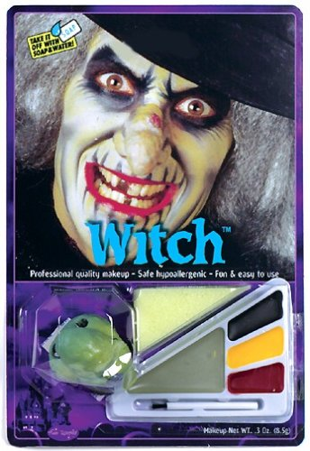 Witch Makeup Kit Halloween Costume Accessory