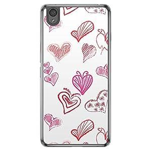 Loud Universe OnePlus X Love Valentine Printing Files Valentine 7 Printed Transparent Edge Case - Multi Color