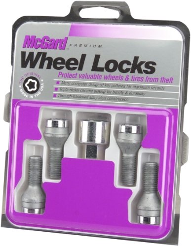 McGard 27226 Chrome Bolt Style Cone Seat Wheel Locks (M14 x 1.25 Thread Size) - Set of 4 by McGard (Image #3)