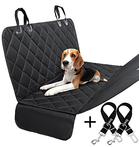 Bonve Pet Dog Seat Cover Waterproof Pets Car Seat Covers