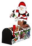 18'' Santa Visiting Magnetic Mailbox Cover