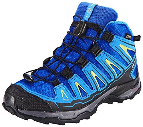 Salomon L39029400, Zapatillas de Senderismo para Niños Azul (Blue Yonder /         Bright Blue /         Granny Gree)