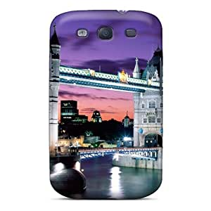 [slbjoho8362IzoXd]premium Phone Case For Galaxy S3/ Tower Bridge England pc Case Cover