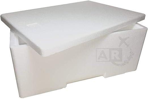 A/R envíos caja Térmica de Poliestireno de 3 kg/3 lt- caja Térmica ...
