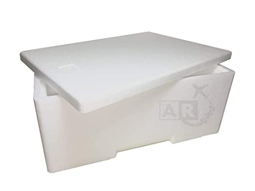 A/R SPEDIZIONI A/R envíos Caja Térmica de Poliestireno de 3 kg/3 ...