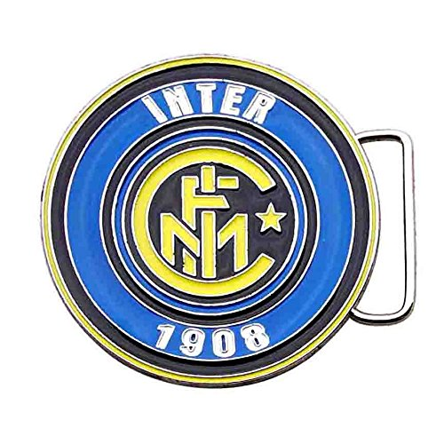 ZAKKA CANADA Inter Milan FC Football Club Enamel Belt Buckle