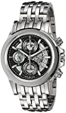 Bulova Men's 'Kirkwood' Swiss Automatic Stainless Steel Casual Watch (Model: 63B170)