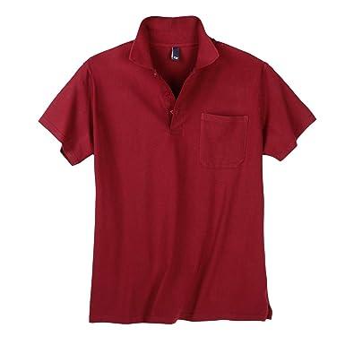 Polo Rojo Hombres Tallas Grandes Daves, 2xl-10xl:2xl: Amazon.es ...