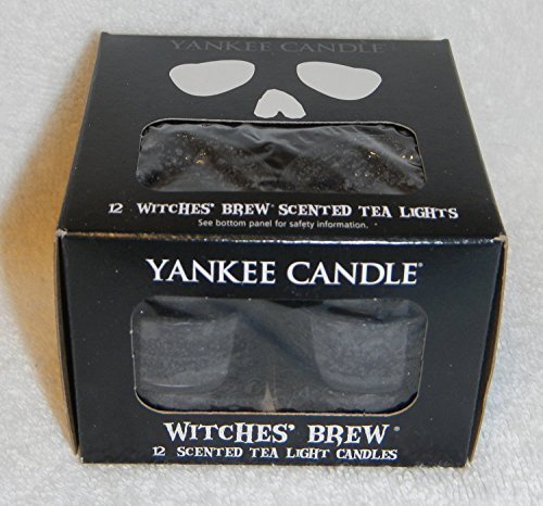 Yankee Candle Halloween Witches' Brew Tea Light Candles 12 (Yankee Halloween Candles)